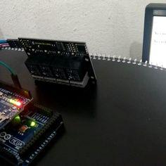 Acionamento de um relé serial via Web. usando Arduíno Mega  Ethernet Shield  HTML.  #arduino #arduinomega #ethernetshield #ifes #ifes by maykelsantoz