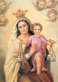 una vida católica en construcción: Nuestra Señora del Carmen  - 16 de julio