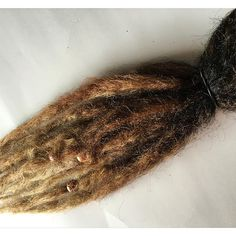 natural ombre synthetic dreads SE single ended from damnationhair.com