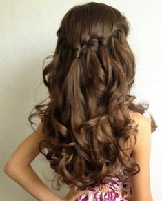 Gorgeous hairstyle with braids
