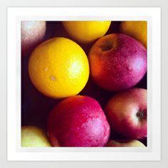 Apples Art Print - $20.00