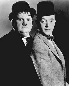 Classic Comedy from Laurel and Hardy to the Blues Brothers. Laurel And Hardy, Stan Laurel Oliver Hardy, Great Comedies, Classic Comedies, Movie Duos, Desenhos Hanna Barbera, The Blues Brothers, Brothers Movie, Comedy Duos