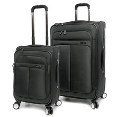 Perry Ellis  Prodigy Lightweight Expandable Rolling Spinner Business Travel Luggage Set ** To view further for this item, visit the image link. (This is an Amazon Affiliate link and I receive a commission for the sales)