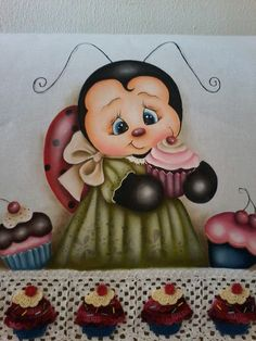Joaninha Cupcake