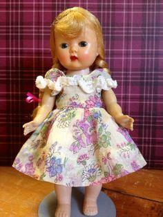 50 Nancy Ann Muffie Doll with Muffie Dress Excellent Condition   eBay