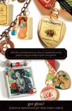 Resin Gloss Jewelry