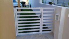 Portão de Alumínio. Miami Telas