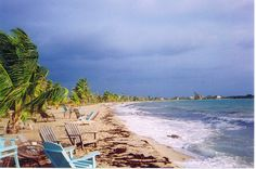 laying on the beach in Placencia, Belize.