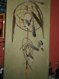native dreamcatcher wall decoration