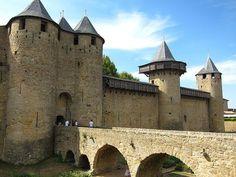 Château de Carcassonne in France