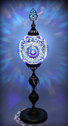 Bought one of these awesome lamps in Jordan, mine is rainbow colors.  Love, love love it.  Makes me happy every time I turn it on.