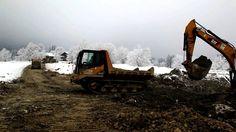 Gebrauchte Baumaschinen im Einsatz Morooka Kettendumper VS Caterpillar Bagger 330D CAT Excavator VS Morooka MST2200VD Tracked Dumper. http://www.ito-germany.de/  gebrauchte Baumaschinen zu verkaufen im ITO Marktplatz