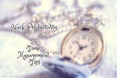 What makes this list different is the final bonus tip, which is right on the money. Work Smarter, Not Harder: 21 Time Management Tips to Hack Productivity