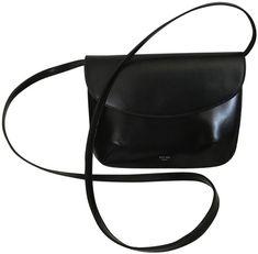 Céline Flap Pouch Convertible Clutch Dark Brown Leather Cross Body Bag. Get  the trendiest Cross dd78f5c1d1b0c