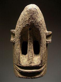 oceanprimitive:  Dogon black monkey mask
