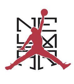 NIKE Neymar X Jordan logo