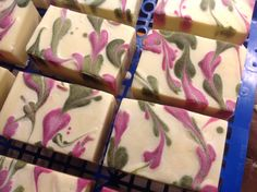 Heart Swirl soap