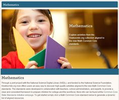 How to Smile: Award Winning STEM Activities (K-12) on one website based on common core standards. Worth checking out!