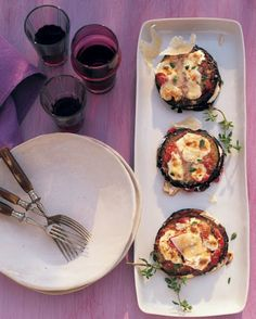 Eggplant Parmesan Stacks Recipe on Yummly