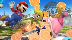 Super Smash Bros. para Nintendo 3DS y Wii U: Toon Link