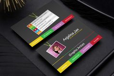 Business card template polpol pinterest black business card do business card design with two concepts reheart Image collections