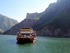 Ferry trip in Koman