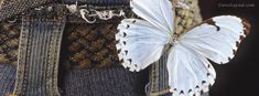 White Butterfly on Blue Jeans~~J Facebook Timeline Photos, Facebook Profile Photo, Timeline Cover Photos, Cover Pics For Facebook, Twitter Cover, Cover Quotes, Cover Photo Quotes, Iphone 5s Wallpaper, White Butterfly