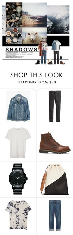 """""""TUNE MY HEART TO SING"""" by missmelodies ❤ liked on Polyvore featuring SAM, Madewell, H&M, Current/Elliott, Movado, Marni, Raquel Allegra, 7 For All Mankind, Alexander Wang and nature"""