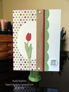Stampin' Up! Backyard Basic Card