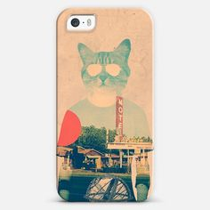 Cool Cat   #Love ! Personalize your #iPhone and #Samsung Galaxy device case using Instagram, Facebook and personal photos on #Casetagram #cute #cool #cat #animals