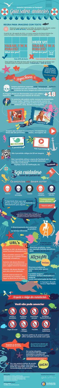Guia Salva Anúncios Facebook com infográfico!