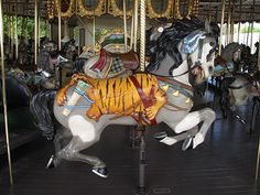 Cafesjian's Carousel . Fabulous amazing horses and the story of these horses/carousel is great too.