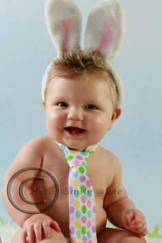 Baby Boy/ Toddler Easter Tie  Two different by CutiePiesBabyTies, $11.00