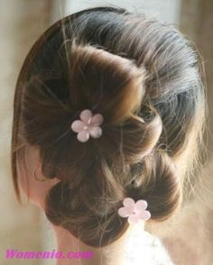 Double Ponytail Updo Hairstyle Step by Step Tutorial {8 Pictures}