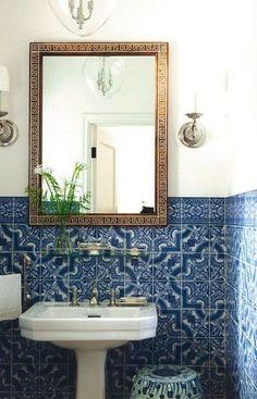 Reciclar e Decorar: + 10 banheiros e lavabos para você se inspirar