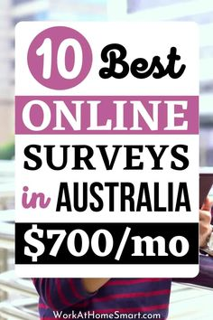 Are you in Australia and are looking for easy ways to make extra money online? Here's a list of the 10 best Australian paid online survey sites that are legit and allow you to make money from home. Top Paid Surveys, Surveys That Pay Cash, Online Surveys For Money, Earn Money From Home, Earn Money Online, How To Make Money, Online Survey Sites, Survey Sites That Pay, Paid Surveys Australia