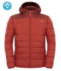 The North Face Chaqueta con capucha La Paz para hombre Brick House Red/Sequoia Red Bomber Jacket Men, Leather Jacket, Moda Men, The North Face, Sport Clothing, Galaxy Space, Sport Wear, Sport Outfits, Men's Fashion