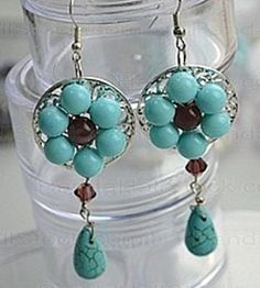 How to make Earrings - Vintage Fashion - DIY Craft Project with instructions from Craftbits.com