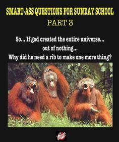 the orangutans are hilarious in this one…!