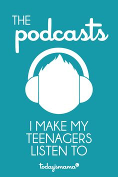 The best podcasts for teens. I listen to multiple podcasts every week and assign the best ones to my teenagers. Here's the list! Parenting Teens, Parenting Advice, Christian Podcasts, Kids Education, Education Quotes, Special Education, Up Girl, Raising Kids, Life Skills