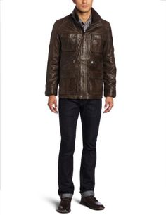 Calvin Klein Men's Utilitarian Waxed Jacket, Reef, X-Large Calvin Klein ++ You can get best price to buy this with big discount just for you.++