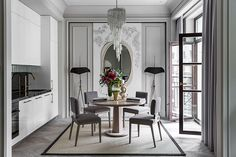 Sophisticated interiors by Marina Filippova | PUFIK. Beautiful Interiors. Online Magazine