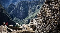 Machu Picchi - view from the Mirante del Condor