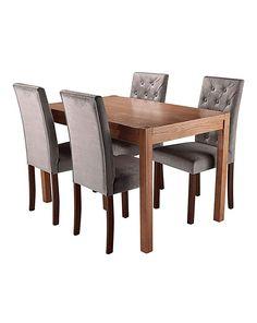 Oakham Rectangle Table 4 Grace Chairs