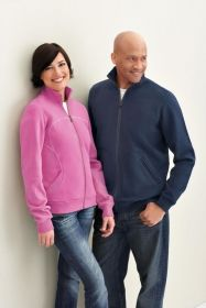 Promotional Products Ideas That Work: Ladies' cotton polyester fleece zip jacket. Get yours at www.luscangroup.com