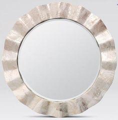 Blake Mirror Royal Furniture, Mirrored Furniture, Furniture Sets, Round Wall Mirror, Round Mirrors, Mirror Mirror, Mirror Room, Wall Mirrors, Wall Décor