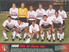 1998 - Fotos de Os Jogadores do Sao Paulo FC