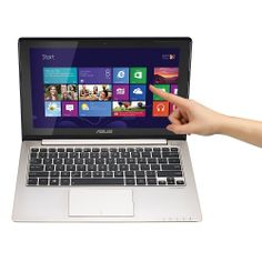 """Asus VivoBook S200E-RHI3T73 Notebook PC With 11.6"""" Touch-Screen Display & Intelฎ Coreโข i3 Processor"""