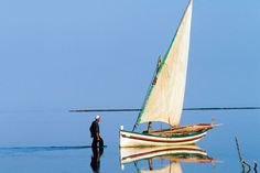 KERKENNAH ISLANDS…this place is real Located on the eastern coast of Tunisia, Kerkennah's gently sloping shore means the sea remains shallow for yards and yards out, making the beaches here among the most child-friendly in the Mediterranean.