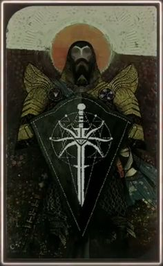 Dragon Age Inquisition character tarot cards- Blackwall